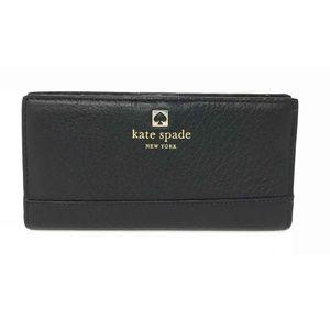 Kate Spade Southport Ave Stacy Bifold Black Wallet